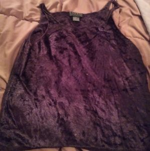 L Sigrid chenille sleeveless sweater